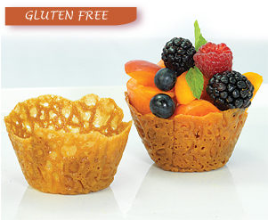Brandy Snap Baskets - Gluten Free